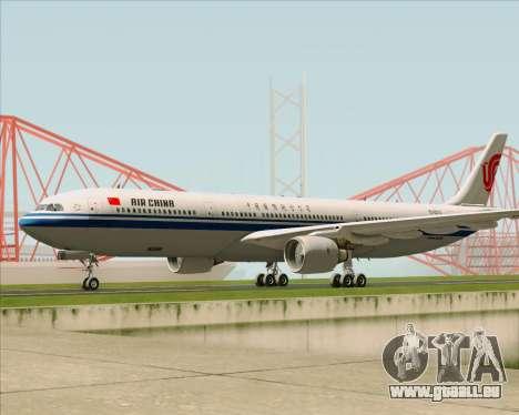 Airbus A330-300 Air China pour GTA San Andreas laissé vue