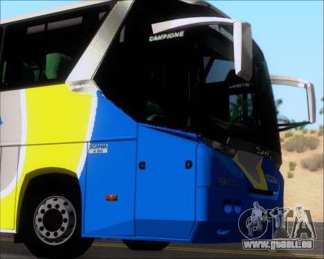 Comil Campione Ulua Scania K420 für GTA San Andreas Seitenansicht