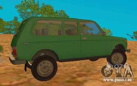 VAZ-2129 Niva 4x4 pour GTA San Andreas laissé vue