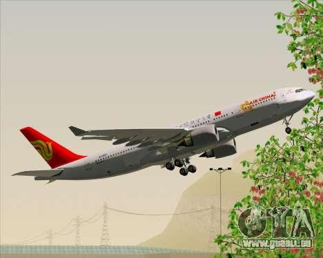 Airbus A330-200 Air China für GTA San Andreas Seitenansicht