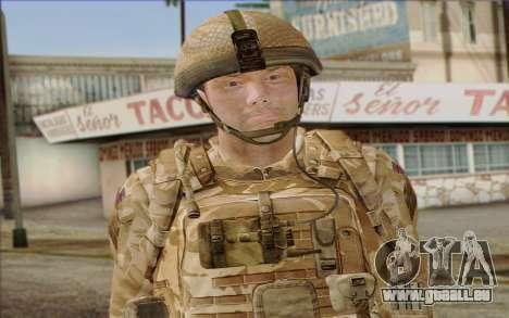 Britische Soldaten (ArmA II: BAF) v2 für GTA San Andreas dritten Screenshot