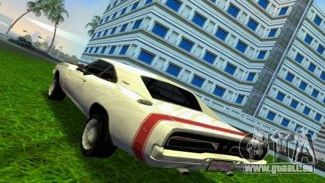 Dodge Charger 1967 pour une vue GTA Vice City de la droite