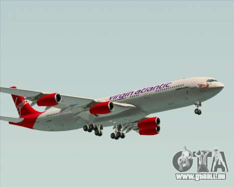 Airbus A340-313 Virgin Atlantic Airways für GTA San Andreas linke Ansicht