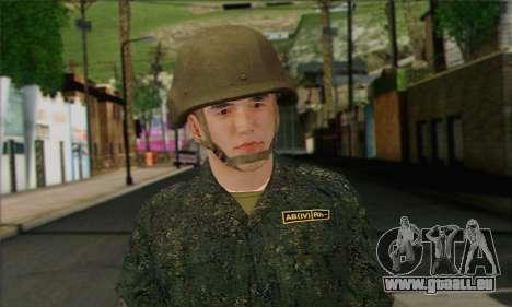 Privé D'Infanterie Motorisée De Troupes. SAR v3 pour GTA San Andreas troisième écran