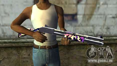 Graffiti Shotgun v3 für GTA San Andreas dritten Screenshot