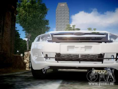 Lada Granta Liftback pour GTA 4 est une vue de l'intérieur