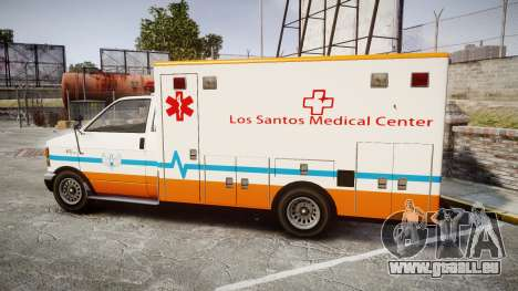 GTA V Brute Ambulance [ELS] für GTA 4 linke Ansicht