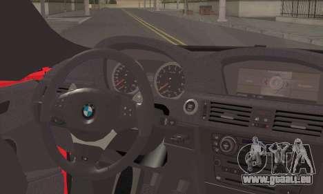 BMW X6M 2013 v3.0 für GTA San Andreas zurück linke Ansicht