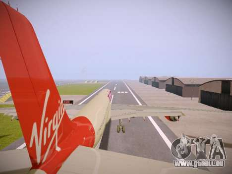 Airbus A340-600 Virgin Atlantic New Livery pour GTA San Andreas