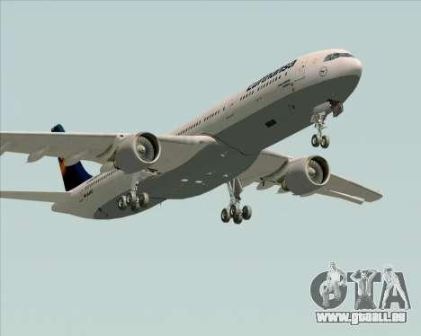 Airbus A330-300 Lufthansa für GTA San Andreas Seitenansicht