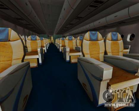 Airbus A380-841 China Southern Airlines für GTA San Andreas Räder
