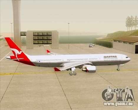 Airbus A330-300 Qantas pour GTA San Andreas vue arrière