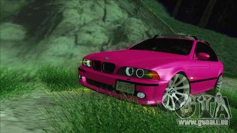 BMW M5 E39 2003 Stance für GTA San Andreas Innenansicht