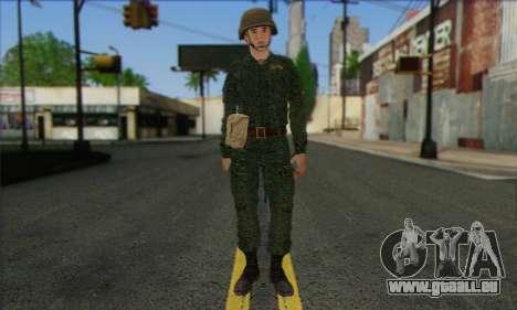 Privé D'Infanterie Motorisée De Troupes. SAR v3 pour GTA San Andreas