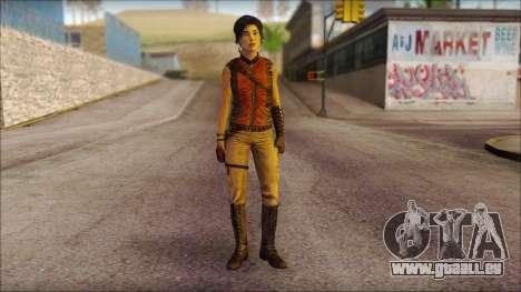 Tomb Raider Skin 5 2013 für GTA San Andreas