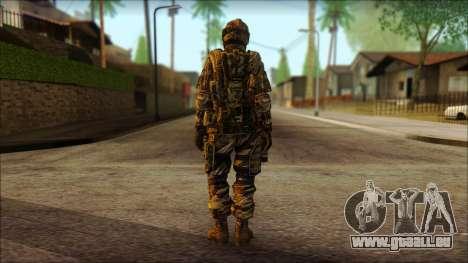 Les soldats de l'UNION européenne (AVA) v3 pour GTA San Andreas deuxième écran