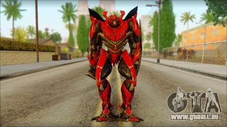 Dino Mirage (transformers Dark of the moon) v1 für GTA San Andreas