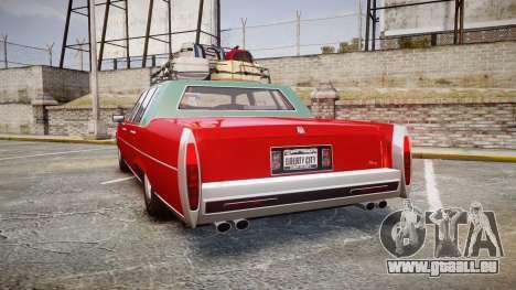 Albany Emperor Traveler pour GTA 4 Vue arrière de la gauche