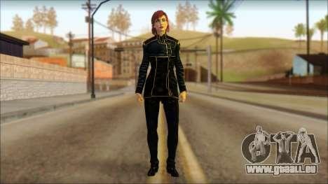 Mass Effect Anna Skin v1 für GTA San Andreas
