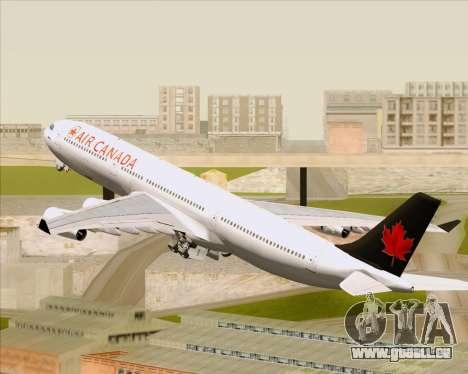 Airbus A340-313 Air Canada pour GTA San Andreas roue