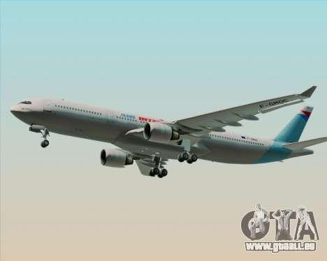 Airbus A330-300 Air Inter für GTA San Andreas Innenansicht