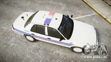 Ford Crown Victoria Alderney Police [ELS] für GTA 4 rechte Ansicht