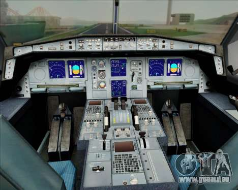 Airbus A330-300 Air Inter pour GTA San Andreas roue