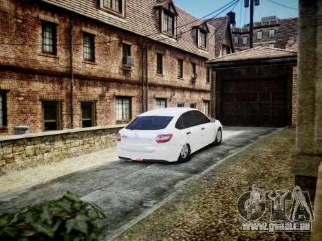 Lada Granta Liftback pour GTA 4 est un droit