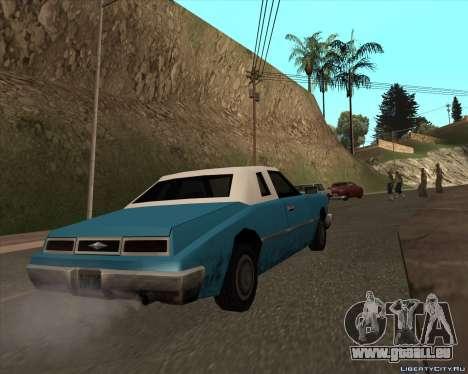 Idaho pour GTA San Andreas sur la vue arrière gauche