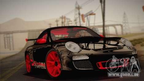 Porsche 911 GT3RSR pour GTA San Andreas sur la vue arrière gauche
