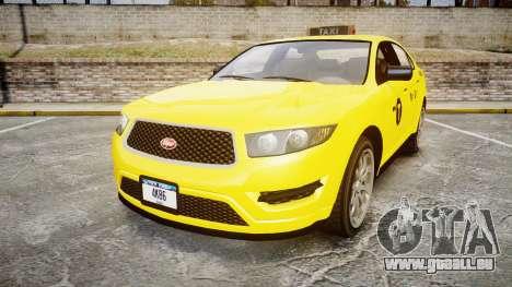 GTA V Vapid Taurus Taxi NYC für GTA 4