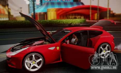 Ferrari FF 2012 für GTA San Andreas Rückansicht