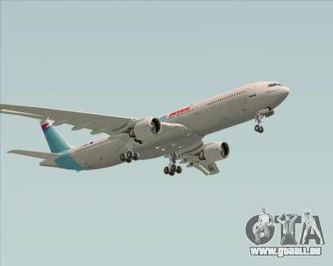 Airbus A330-300 Air Inter für GTA San Andreas Unteransicht