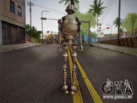 Kraang Robot für GTA San Andreas zweiten Screenshot