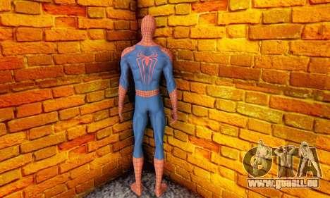 The Amazing Spider Man 2 Oficial Skin für GTA San Andreas fünften Screenshot