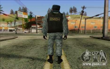 Die Polizei In Russlands Haut 5 für GTA San Andreas zweiten Screenshot