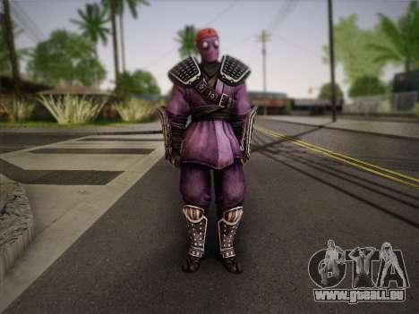Foot Soldier Elite v2 für GTA San Andreas