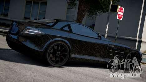 Mercedes SLR McLaren pour GTA 4 est une gauche