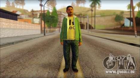 GTA 5 Ped 11 pour GTA San Andreas
