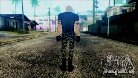 Manhunt Ped 13 pour GTA San Andreas deuxième écran