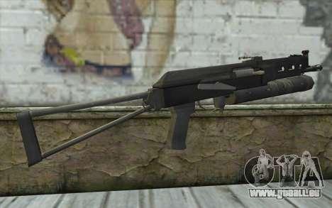 PP-19 Bizon (Battlefield 2) pour GTA San Andreas deuxième écran