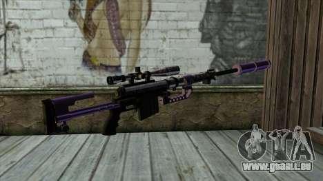 PurpleX Sniper Rifle für GTA San Andreas zweiten Screenshot