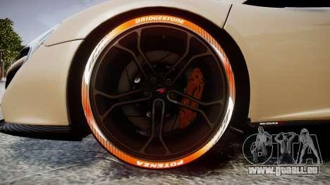 McLaren 650S Spider 2014 [EPM] Bridgestone v1 für GTA 4 Rückansicht