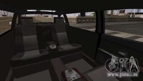 BMW E66 7-Series Limousine pour GTA San Andreas sur la vue arrière gauche