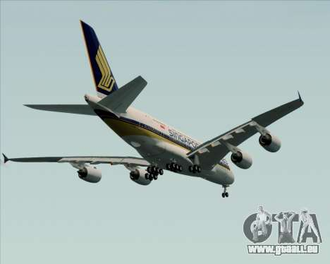 Airbus A380-841 Singapore Airlines pour GTA San Andreas