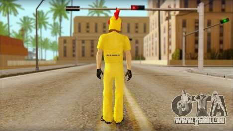 Neue Händler in Cluckin Bell für GTA San Andreas zweiten Screenshot