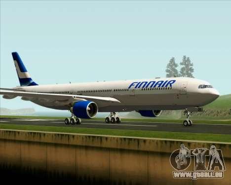Airbus A330-300 Finnair (Old Livery) pour GTA San Andreas laissé vue