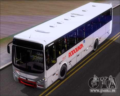 Marcopolo Torino G7 2007 - Volksbus 17-230 EOD pour GTA San Andreas vue arrière
