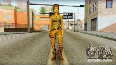 Tomb Raider Skin 12 2013 für GTA San Andreas