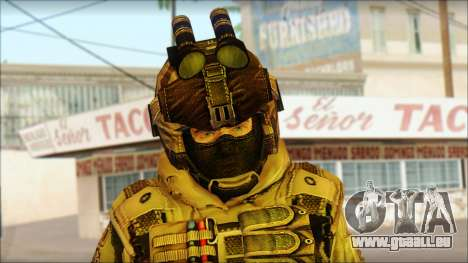 Les soldats de l'UNION européenne (AVA) v2 pour GTA San Andreas troisième écran